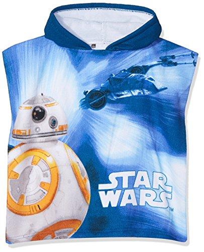 Star Wars 7 Camiseta térmica, Azul (Navy 2), Talla única para Niños