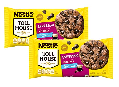 Nestle Toll House Espresso Baking Chip Morsels, 9 Oz Each - Pack of 2