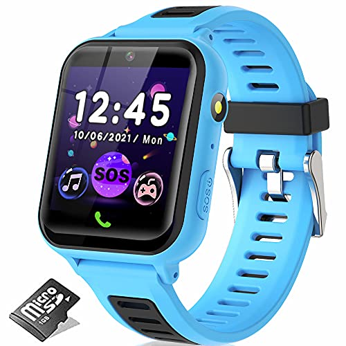 Kids Smart Watch for Boys Girls, Kids Smartwatch with Call 14 Games SOS Music Player...