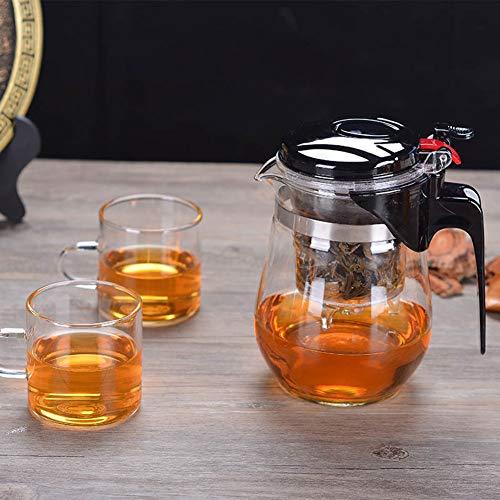 500 Ml/750 Ml Hittebestendig glas theepot Keuken Accessoires Chinese Set Puer Ketel Koffie Glazen Maker Handige Office Theepot