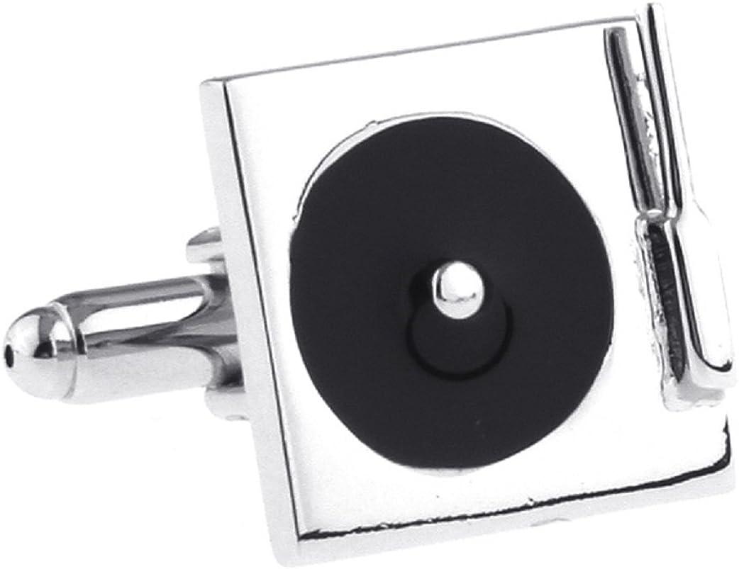 MRCUFF Turntable Record Player DJ a New item in Cufflinks Pair Presentati Max 82% OFF