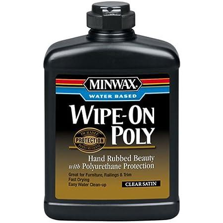 Water-Base Wipe-On Polyurethane 16fl oz
