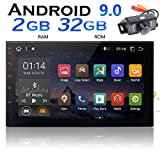 7-Zoll-Android Car Stereo Android 9.0 2 DIN Head Unit mit Kamera 2 GB