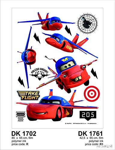 Muursticker DK 1702 Disney Cars