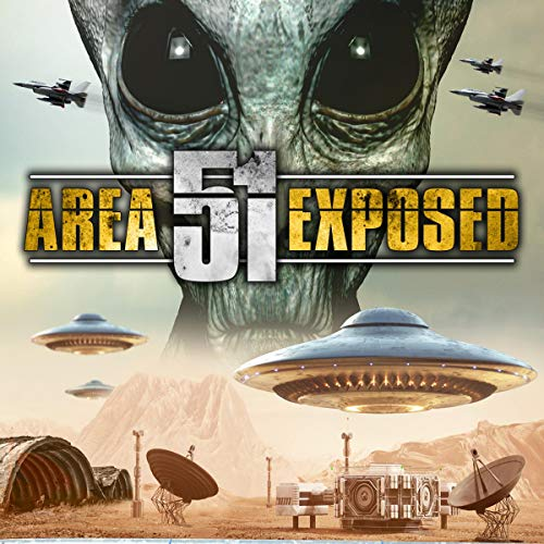 Area 51 Exposed audiobook cover art