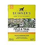Skinner's Field & Trial Puppy & Junior - Chicken & Garden Veg, Wet Dog Food, Grain Free, 390g (Pack of 18)