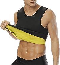 NOVECASA Vest Gewichtsverlies Suana Man Zweetvest Neopreen Corset Body Shaper Zweten, Vetverbranding voor Fitness Yoga