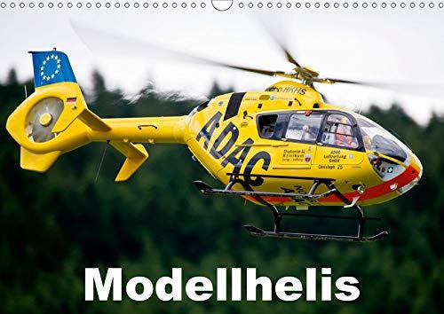 Modellhelis (Wandkalender 2020 DIN A3 quer): Modellhelikopter im Flug fotografiert (Monatskalender, 14 Seiten ) (CALVENDO Hobbys)