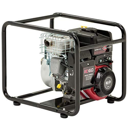 Briggs & Stratton Elite Benzin-Wasserpumpe WP2-60, mit 600 l/min, 8 m vertikaler Absaugung und INTEK I/C Motor