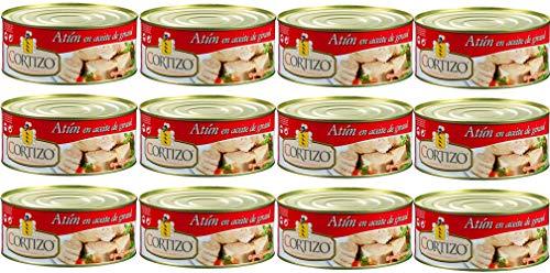 Caja de 12 latas de atún Cortizo RO-1000