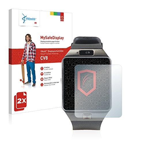 Vikuiti 2X Bildschirmschutzfolie CV8 von 3M kompatibel mit Simvalley Mobile PW-430.mp PX-4057 Schutzfolie Folie