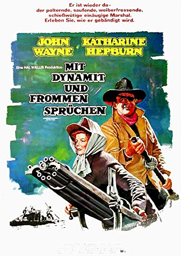 Mit Dynamit und frommen Sprüchen (1975) | original Filmplakat, Poster [Din A1, 59 x 84 cm]