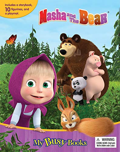 Compare Textbook Prices for Masha & the Bear My Busy Books  ISBN 9782764349359 by Phidal Publishing Inc.