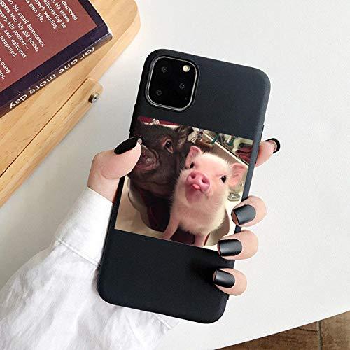 WGOUT David Mona Lisa para iPhone 11 12Pro MAX 5S SE 2020 Funda para teléfono para iPhone XS MAX XR X 6S 7 8 Plus Fundas de TPU Blandas Carcasa, 04, para iPhone 6 6S