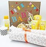 MAXI Canastilla para Bebés con Productos WELEDA, Mantita (o Cambiador...