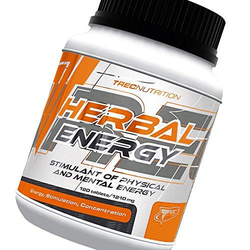 Herbal Energy - Estimulante de la energía física y mental - Una fuerte fórmula energética de hierbas - Trec Nutrition