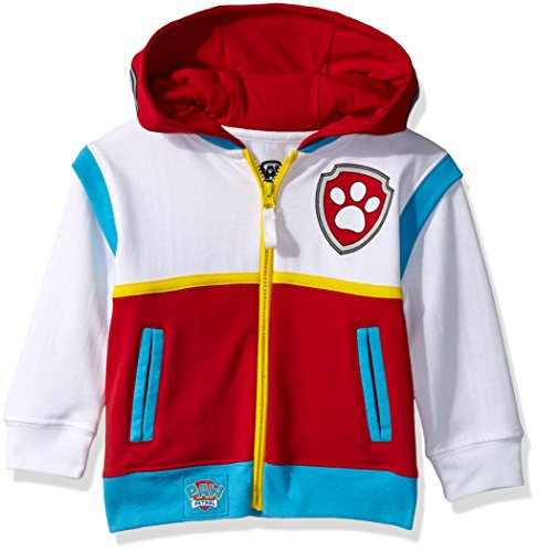Nickelodeon Toddler Boys' Paw Patrol Ryder Costume Hoodie, Multicolor