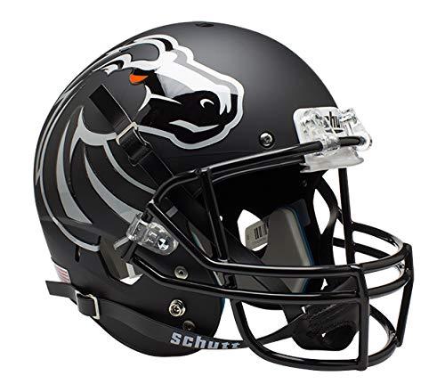 NCAA Boise State Broncos Replica XP Helmet - Alternate 4 (Matte Black)
