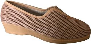 Bocciolo Pantofola Donna Estiva Comoda Morbida Leggera Chiusa Dietro con Elastico Centrale in Tessuto Articolo SHOESY 55428