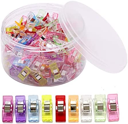 150 PCS Multipurpose Sewing Clips Wonder Clips for Sewing Quilting Clips for Fabric Sewing Binding product image