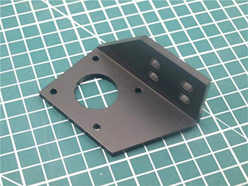 XBaofu 1pcs Aluminium Y Motorhalterung for AM8 / Anet 3D-Drucker Metall Y Stepper Motor Mount 2040 V-Nut
