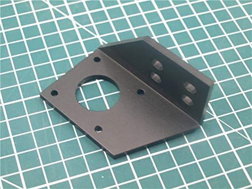 WNJ-TOOL, 1pcs Aluminium Y Motorhalterung for AM8 / Anet 3D-Drucker Metall Y Stepper Motor Mount 2040 V-Nut