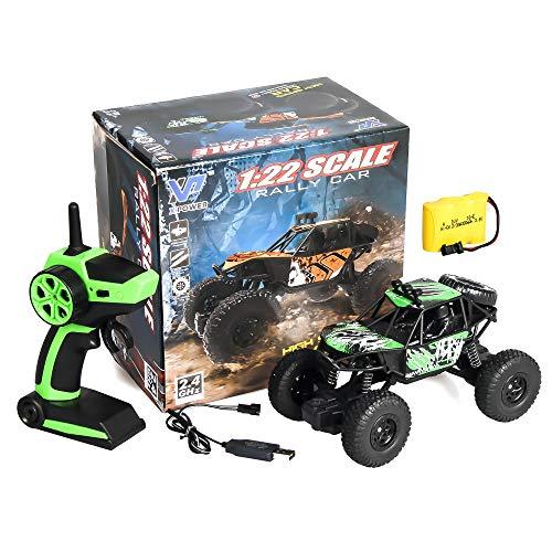 Meteor fire Coche teledirigido RC Cars Stunt Car Toy, 2.4G RC Climbing Car Monster Truck Alta Velocidad Control Remoto Coche Juguetes, para Regalos de cumpleaños Niños Niñas Adultos,3