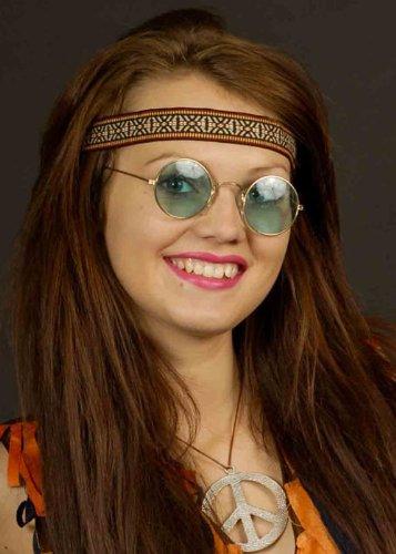 Vert 70 s Hippie lunettes de John Lennon
