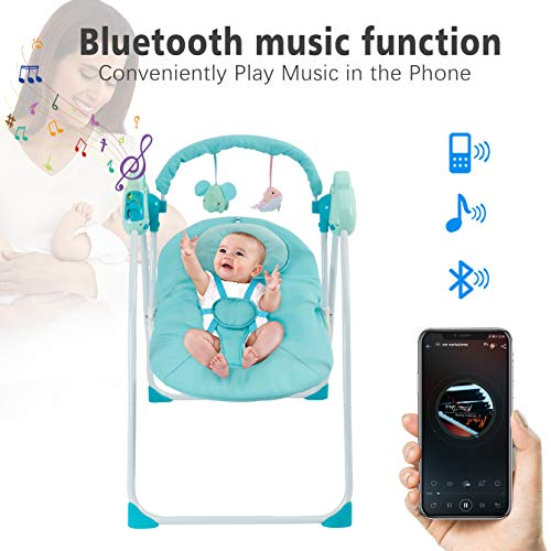 51ROe cFgmL 10 Best Portable Baby Swings on the Market 2021 Review