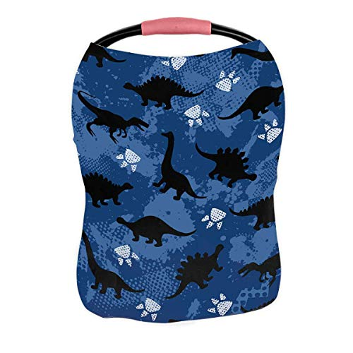 Buy ECZJNT Colorful Dinosaurs Nursing Cover Baby Breastfeeding Infant Feeding Cover Baby Car Seat Co...