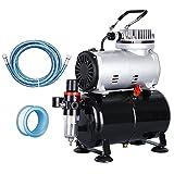 ZENY Pro 1/5 HP Airbrush Air Compressor Airbrushing Kit w/...
