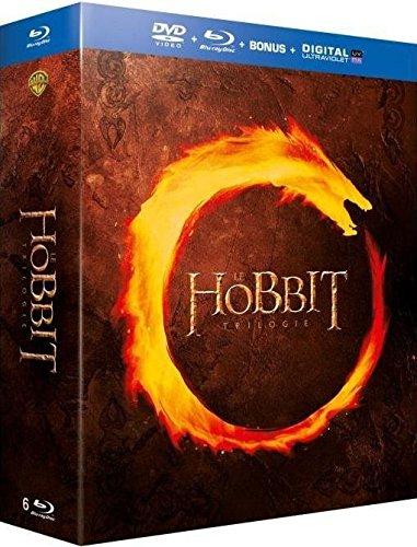 Coffret trilogie le hobbit : un voyage inattendu ; la désolation de smaug ; la bataille des cinq armées [Blu-ray] [FR Import]