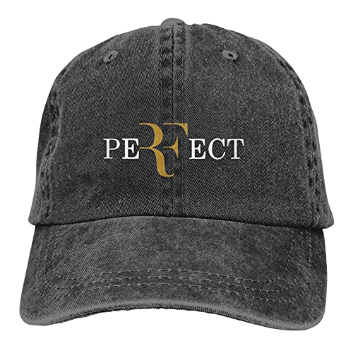 Pirate Luffy Roger Federer Baseball Cap Unisex Adjustable Comfortable Cowboy Hat for Men Women Black