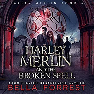 Page de couverture de Harley Merlin and the Broken Spell