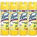 Lysol Disinfectant Spray, Lemon Breeze, 76oz (4X19oz)