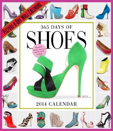 365 Days of Shoes 2014 Calendar