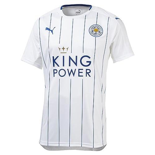 Puma Leicester City - Camiseta de manga corta (2016-2017), Hombre,