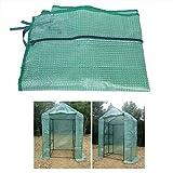 TOPINCN Serre de Jardin portative en Plastique extérieur résistant aux UV...