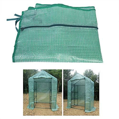 TOPINCN Portable Garden Greenhouse Plastic Outdoor Uv Resistant Waterproof...
