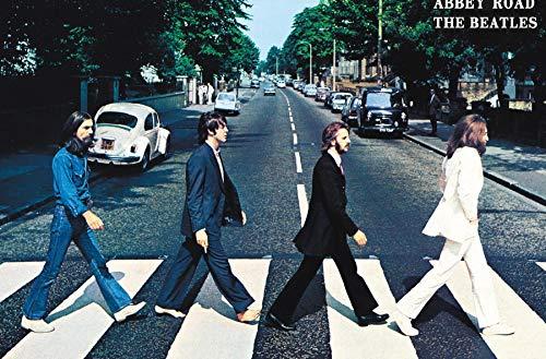 Trends International Beatles-Abbey Road Wall Poster, 22.375' x 34', Unframed Version
