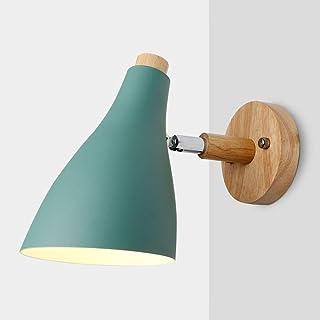 Aplique de diseño LED de la lámpara de pared creativa nórdica ligero de la pared de la habitación Restaurante Restaurante Pasillo pared del café de la lámpara lámpara de pared dormitorio lado de las l
