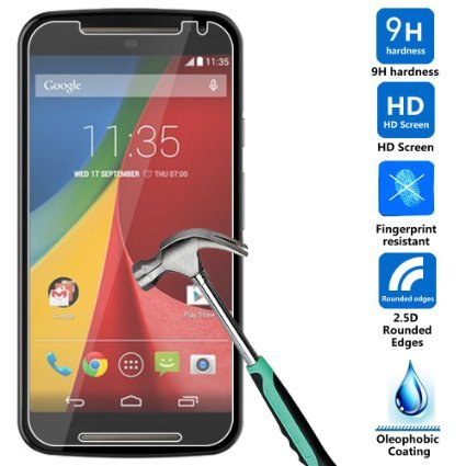 Tempered Glass for Motorola Moto G Turbo - Transparent