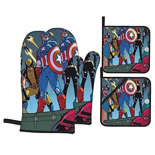 The Avengers - Mini mitones de horno para...