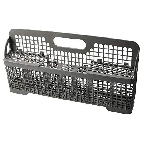 AMI PARTS 8531233 WP8531233 Dishwasher Silverware Basket Compatible with Kitchenaid Dishwasher Utensil Rack Basket, Replaces 8531233,8562043, WP8531233VP, 941351, AP6012898, PS11746119