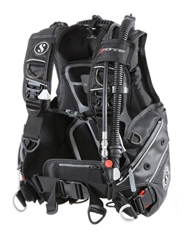 SCUBAPRO(スキューバプロ) X-FORCE エックスフォース BCジャケット (Mサイズ) [BPI(バランスパワーインフレーター装備モデル)]