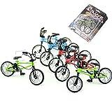 Hergon Mini Fuctional Finger, Jouet de vélo de vélo BMX Fixie de Montagne, Outil de...