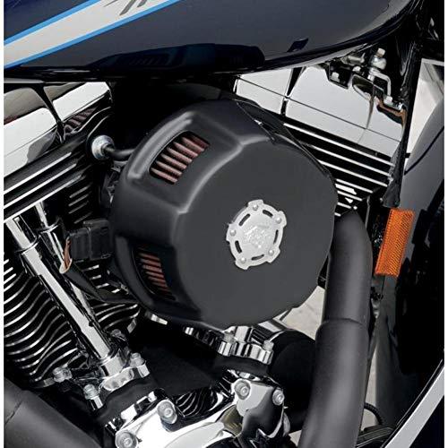 Vance & Hines Vo2 luchtfilter Duke Cover zwart (Harley Davidson Dyna 1995-2014)