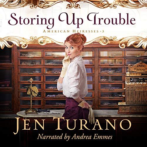 Storing Up Trouble audiobook cover art