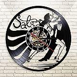 Reloj de Pared contemporáneo de salón de Baile con Pareja