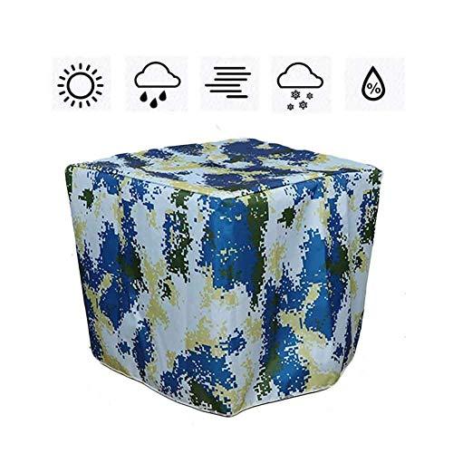 ASDFGHT Jardín Mantel Muebles Exterior Interior Al Aire Libre Impermeable A Prueba De Polvo Mesa Café Máquina Equipo Lona Protectora, Tamaño Personalizado (Color : Blue, Size : 180x135x90cm)